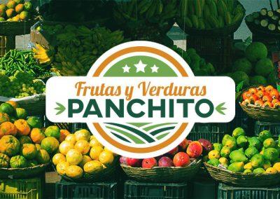 Logo frutas y verduras panchito